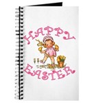 Cute Kewpie Style Art Easter Journal