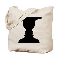 Rubin vase Tote Bag