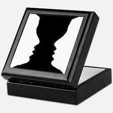 Rubin vase Keepsake Box