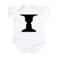Rubin vase Infant Bodysuit