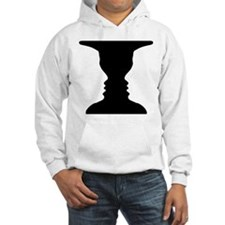 Rubin vase Hoodie
