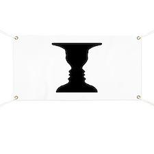 Rubin vase Banner