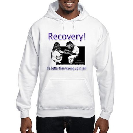"""Better than waking up in jai Hooded Sweatshirt"