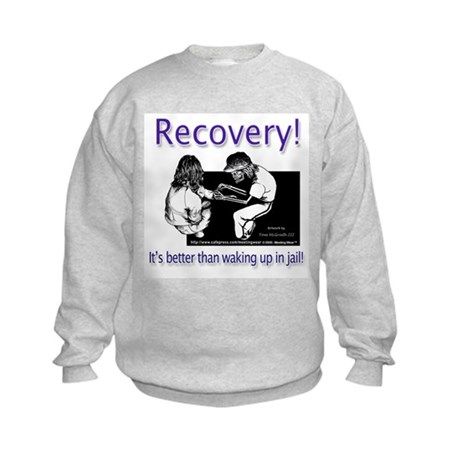 """Better than waking up in jai Kids Sweatshirt"