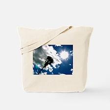 Palm Tree & Sun Tote Bag