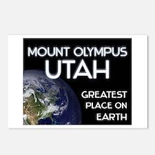 mount olympus utah - greatest place on earth Postc