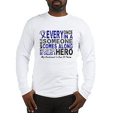 HERO Comes Along 1 Husband CC Long Sleeve T-Shirt