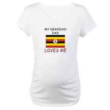 My UGANDAN DAD Loves Me Shirt