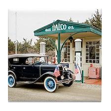 Cute Antique car Tile Coaster