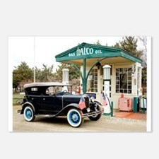 Funny Ford model a Postcards (Package of 8)