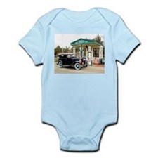 Cute Green american flag Infant Bodysuit