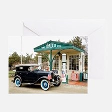 Unique Antique cars Greeting Card