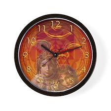 Om Krishna Wall Clock