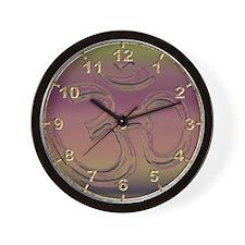 Mystic Om Wall Clock