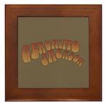 Geronimo Jackson Framed Tile