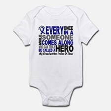 HERO Comes Along 1 Grandmother CC Infant Bodysuit