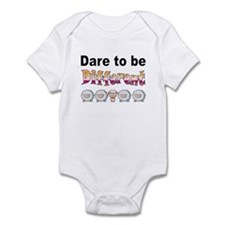 Dare to Be Different Onesie