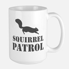 Squirrel Patrol Large Mug