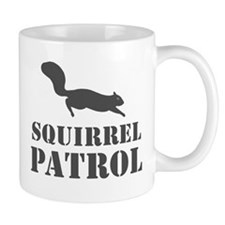 Squirrel Patrol Mug