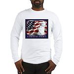 Westie Patriotic Flag Long Sleeve T-Shirt