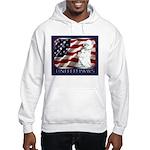 Westie Patriotic Flag Hooded Sweatshirt