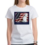 Westie Patriotic Flag Women's T-Shirt