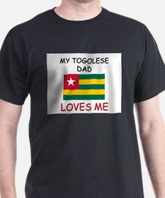 My TOGOLESE DAD Loves Me T-Shirt