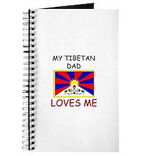 My TIBETAN DAD Loves Me Journal
