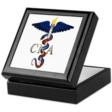 CNA Caduceus Keepsake Box
