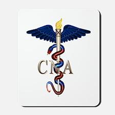 CNA Caduceus Mousepad