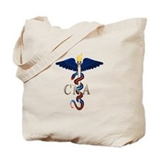 CNA Caduceus Tote Bag