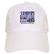 HERO Comes Along 1 Grandpa CC Baseball Cap