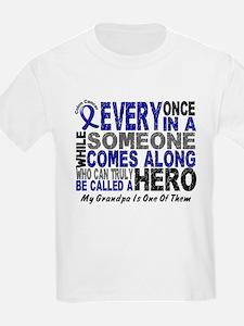 HERO Comes Along 1 Grandpa CC T-Shirt
