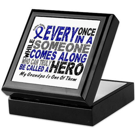 HERO Comes Along 1 Grandpa CC Keepsake Box