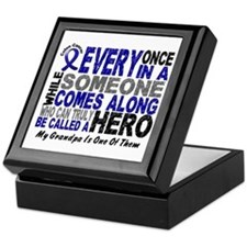 HERO Comes Along 1 Grandpa CC Keepsake Box