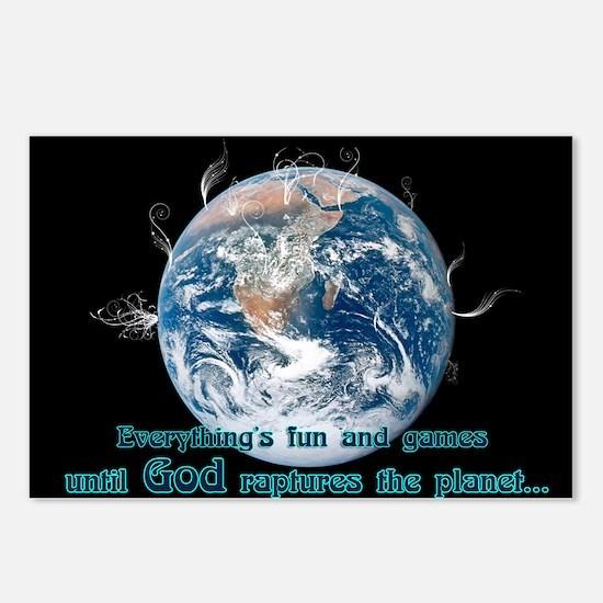 Unique Religious humor Postcards (Package of 8)