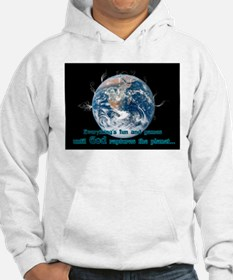 Cool End of the world design Hoodie