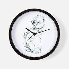 West Highland White Terrier Westie Wall Clock
