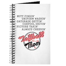 SOFTBALL MOM 2 Journal