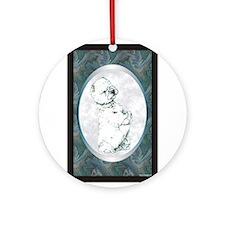 West Highland Westie Designer Ornament (Round)