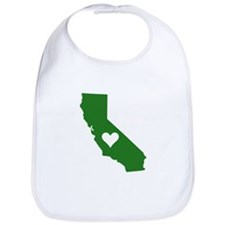Green California Bib