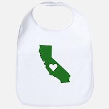 Green California Bib