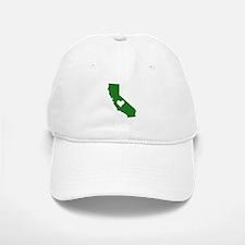 Green California Baseball Baseball Cap