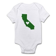 Green California Infant Bodysuit