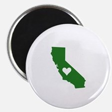 Green California Magnet