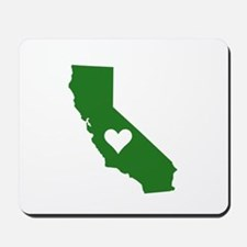 Green California Mousepad