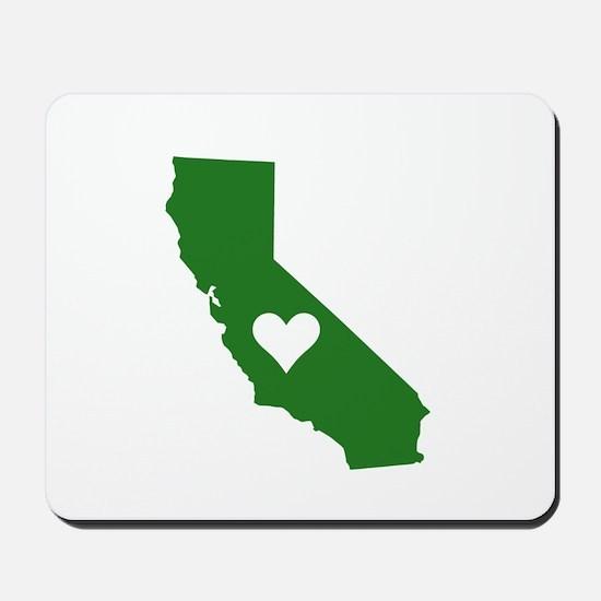 Green California Mousepad