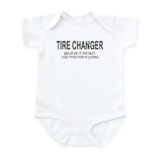Tire Changer Infant Bodysuit