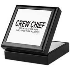 Crew Chief Keepsake Box