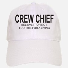 Crew Chief Baseball Baseball Cap
